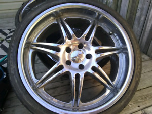 20 inch Mercedes rims and tire 300