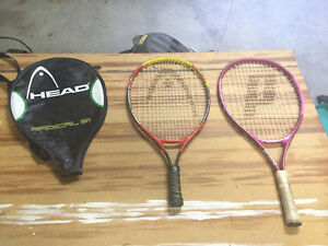Raquettes de tennis junior