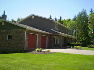 Beautiful property & home bordering on Morell River, PEI
