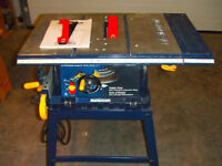 "Mastercraft 10"" Tablesaw"