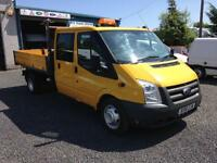 Ford Transit 10 Reg Tipper ex council d/cab
