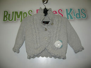 Nice warm sweater for girls Size: 3-6mths.