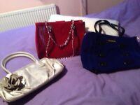Trio handbags