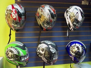 VENTE CASQUES FULL FACE SCOOTER MOTO VTT $59.99!MINI MOTO DEPOT