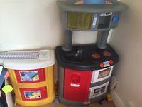 Little tikes kitchen.