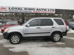 2004 HONDA CRV CERTIFIED AND E TESTED SUV