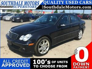 2007 MERCEDES-BENZ C-CLASS C280 * LUXURY * 4MATIC * LEATHER * SU