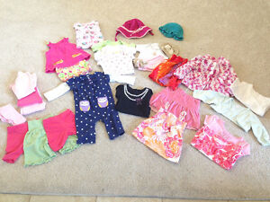 LOT of 9-18mth Girls Clothes