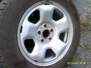 4 roues avec pneus hiver toyo 17 pouces honda pilot, mdx,odyssey