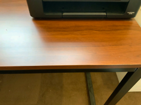 Computer Desk, Wood Writing Desk
