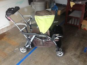 Sit-N-Stand LX - Double Stroller