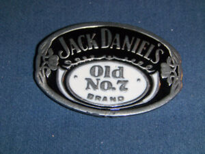 VINTAGE JACK DANIEL'S OLD NO. 7 BRAND WHISKEY BELT BUCKLE