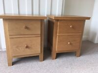 BHS Pine Wood Bedside Tables x2 *REDUCED*