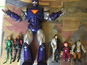 Action figures for sale.