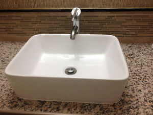 Brand New  sink and faucets
