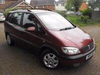 2001 Vauxhall Zafira 2.0 DTi 16v Elegance 5dr