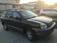 2006 Hyundai Santa Fe AWD loaded 1owner excellent condition