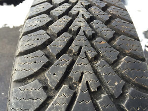 Goodyear Nordic Winter tires 185/65/R14