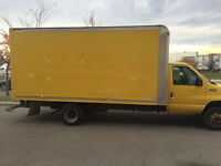 2004 Ford 16ft Cube van moving truck
