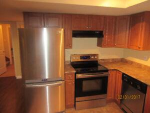 2 bedrooms  basement suite for rent