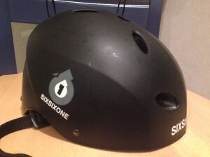 Keep safe with man's large helmet