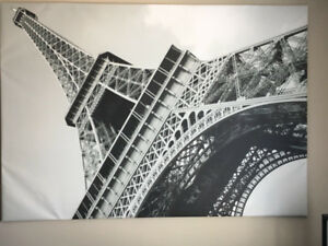 Ikea large Eiffel Tower canvas picture