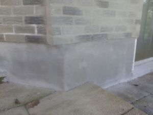 Concrete sealing,Concrete repairs,Foundation Parging London Ontario image 4