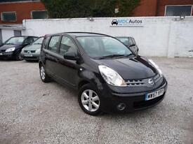 2008 Nissan Note 1.6 Auto Acenta, 5DR AUTOMATIC, 12M MOT, FULL HISTORY EW CD RCL