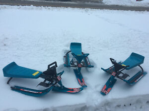 GT Snow Racer Sleds (3 to sell) LIKE NEW