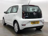 2016 Volkswagen UP Move up! 1.0 60 PS 5-speed manual 5 Door Petrol white Manual