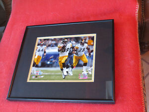 Willie Parker Autographed 8x10 Framed Super Bowl XL Photo