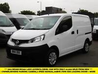 2014 NISSAN NV200 1.5 DCI ACENTA DIESEL VAN WITH ONLY 44.000 MILES FROM NEW ***