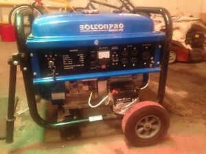 GENERATOR- 6.5 KW gas - Bolton Pro  - NEVER USED