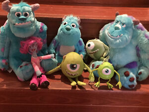 Monsters Inc. plush animals new from Disney! West Island Greater Montréal image 1