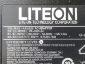 LiteOn Laptop Adapter