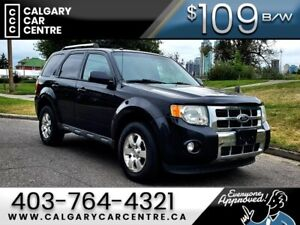 2011 Escape $109B/W TEXT US FOR EASY FINANCING 587-317-4200