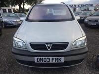 2003 VAUXHALL ZAFIRA 1.8i Comfort 5dr 7 SEATER VERY CLEAN