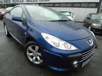 2006 Peugeot 307 CC 1.6 16v Coupe S - Blue - Platinum Warranty!