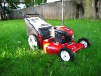 Lawn mowing   $20.00 flate rate