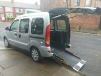 2007 57 RENAULT KANGOO 1.6 EXPRESSION 16V 5D 94 BHP AUTOMATIC WHEEL CHAIR AND