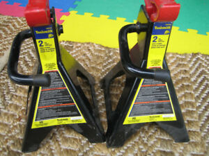 TOOLSMITH 2 TON JACK STANDS FOR SALE