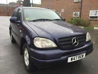 2000 Mercedes-Benz ML320 3.2 auto LPG CONVERSION, DRIVES VERY WELL