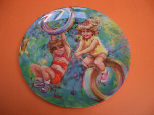 SET OF 4 WEDGWOOD COLLECTOR PLATES RIDING HIGH, OUR GARDEN PLUS London Ontario image 7