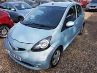Toyota AYGO 1.0 ( 67bhp ) MMT Sport Automatic, Nearly Full History