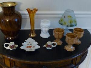 Lot de vase , decoration porcelaine $25.00