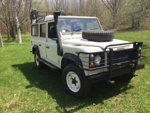 2003 Right Hand Drive Defender 110