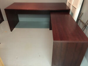 CHERRY WOOD OFFICE SUITE