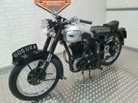 1952 BSA M33, A true british classic in stunning condition.