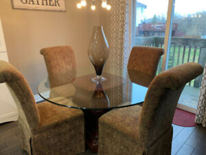 Dining Room Table and Chairs from Bombay