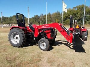 2018 Mahindra 4565 with Loader | 7-Year Warranty, Only $66/week!